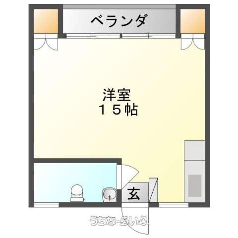 下泉アパート 303号