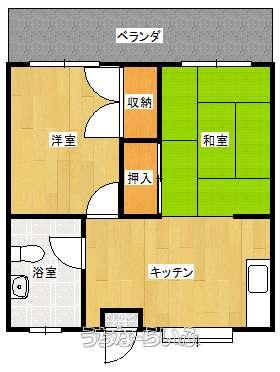 崎原アパート 105号