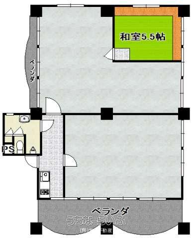 伊覇アパート 2F号