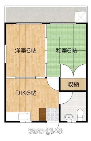 新里アパート 301号