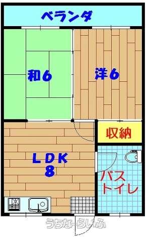 喜友名アパート 201号
