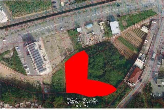 真栄里502坪(1660m2)畑