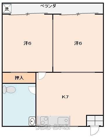 仲間アパート 202号