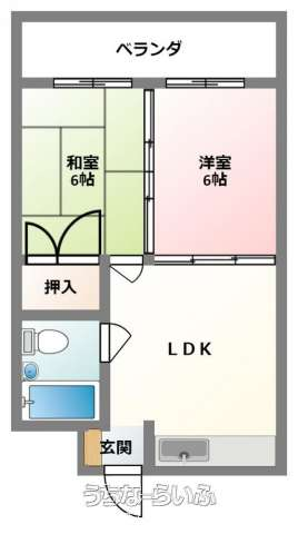 レジデンス松尾 603号