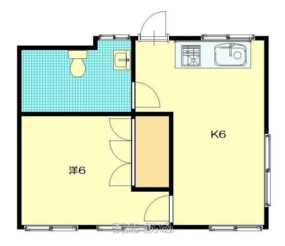 松島アパート B-1号