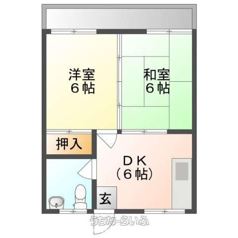 古波蔵アパート 3-A号