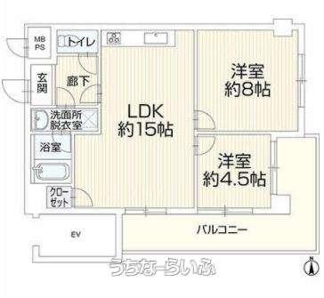 ライオンズマンション樋川台 6F号